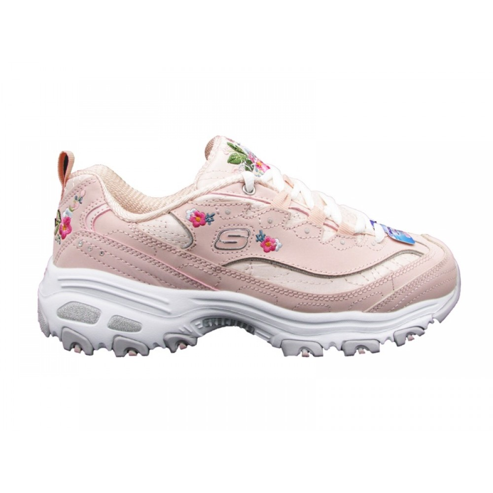SKECHERS D'LITES BRIGHT BLOSSOMS SNEAKERS ROSA 11977 LTPK