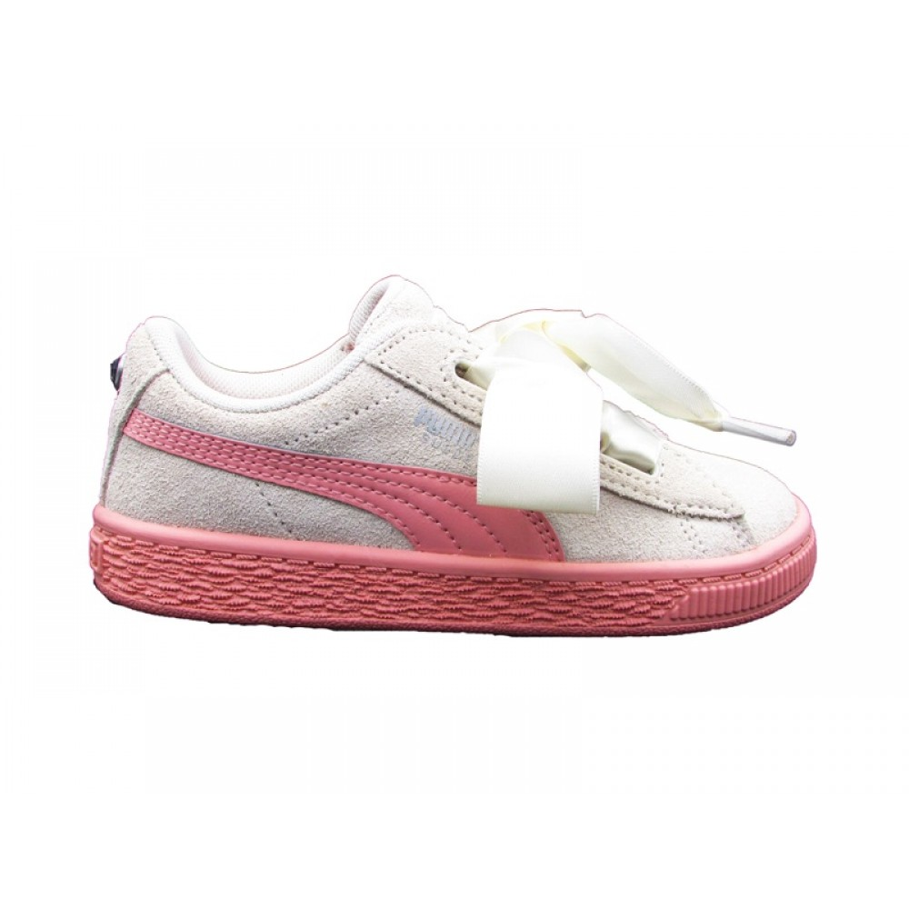 PUMA SNEAKERS SUEDE HEART JEWEL INF ROSA 365140 01
