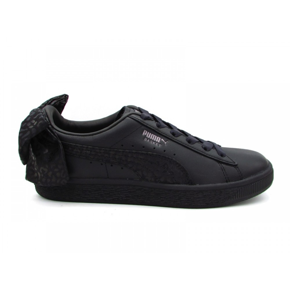 puma basket nero