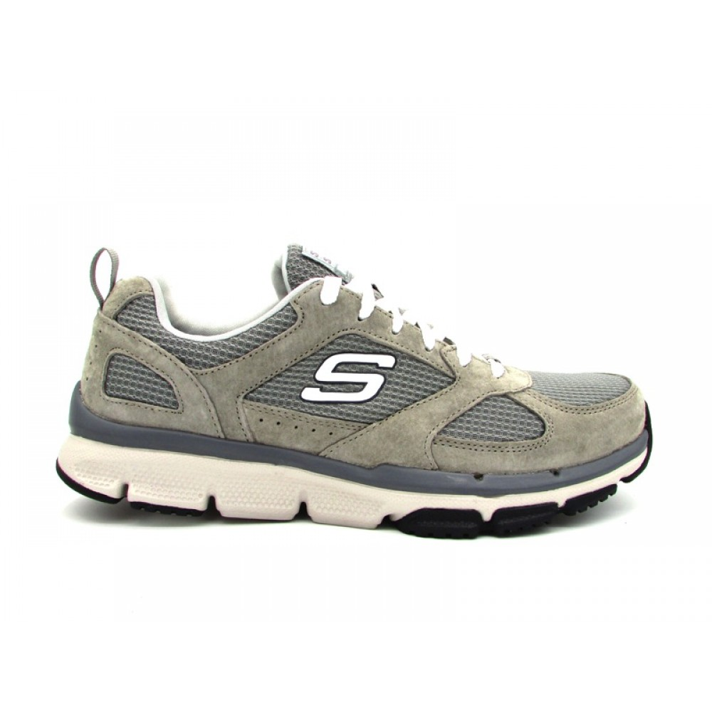 SKECHERS OPTIMIZER SNEAKERS GRIGIO 51551 GRY