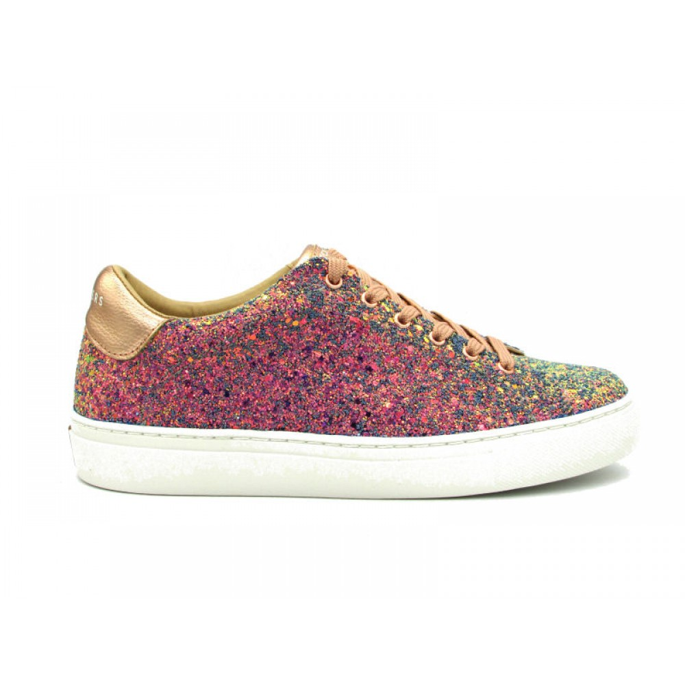 SKECHERS SNEAKERS SIDE STREET AWESOME SAUCE MULTICOLORE