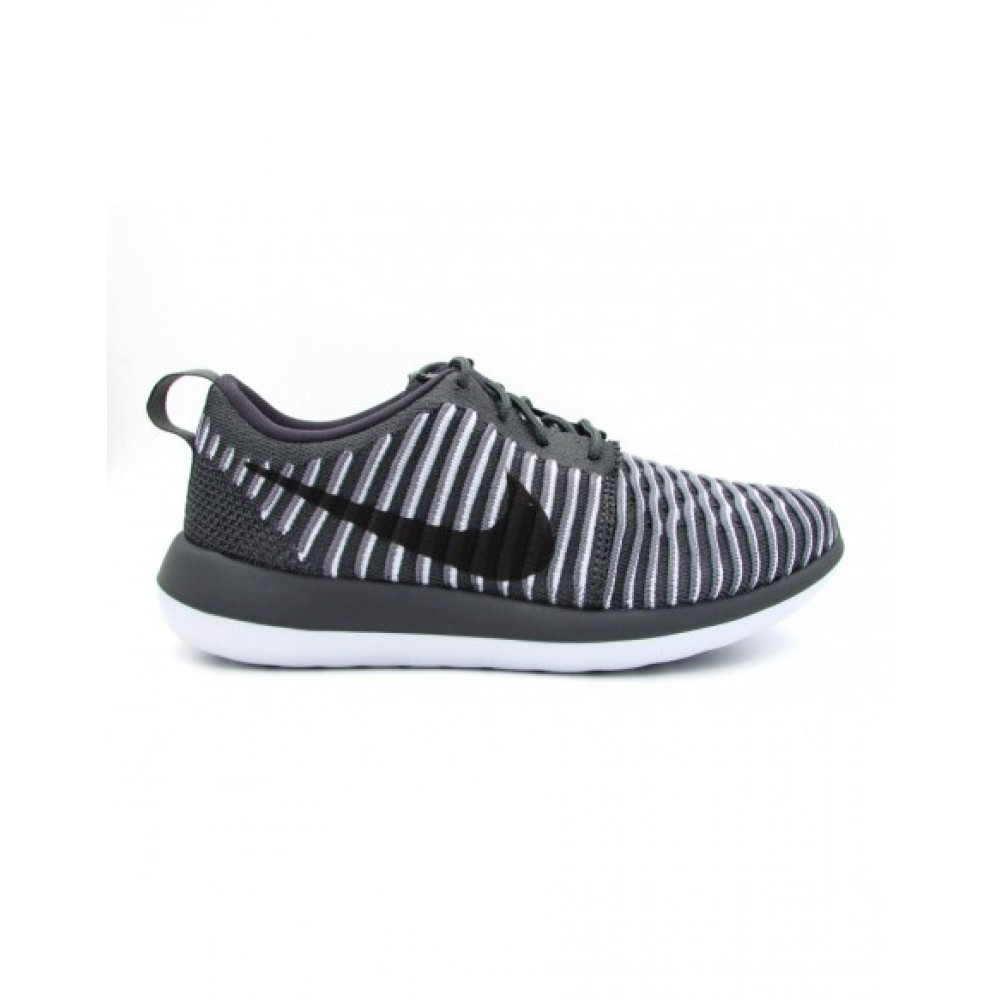 timeless design 7c220 d376b NIKE SNEAKERS WMNS ROSHE TWO FLYKNIT GRIGIO BIANCO NERO 844929-002