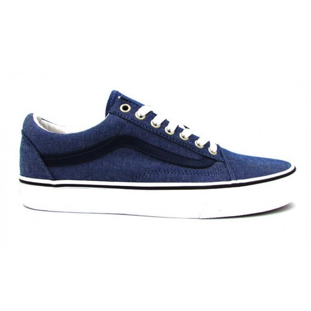 VANS SNEAKERS OLD SKOOL CL BLU JEANS 8G1MMM