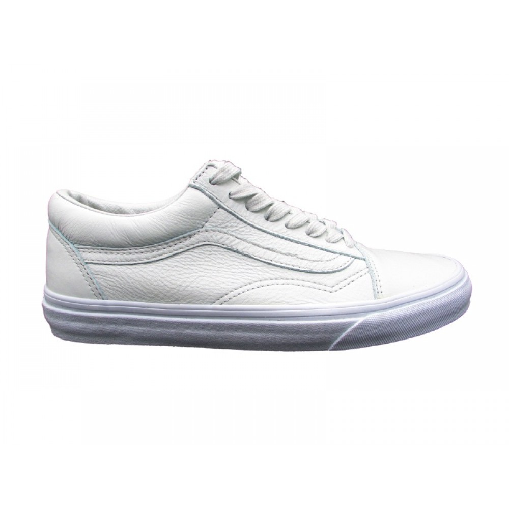 VANS SNEAKERS OLD SKOOL LEATHER GHIACCIO 8G1ONT