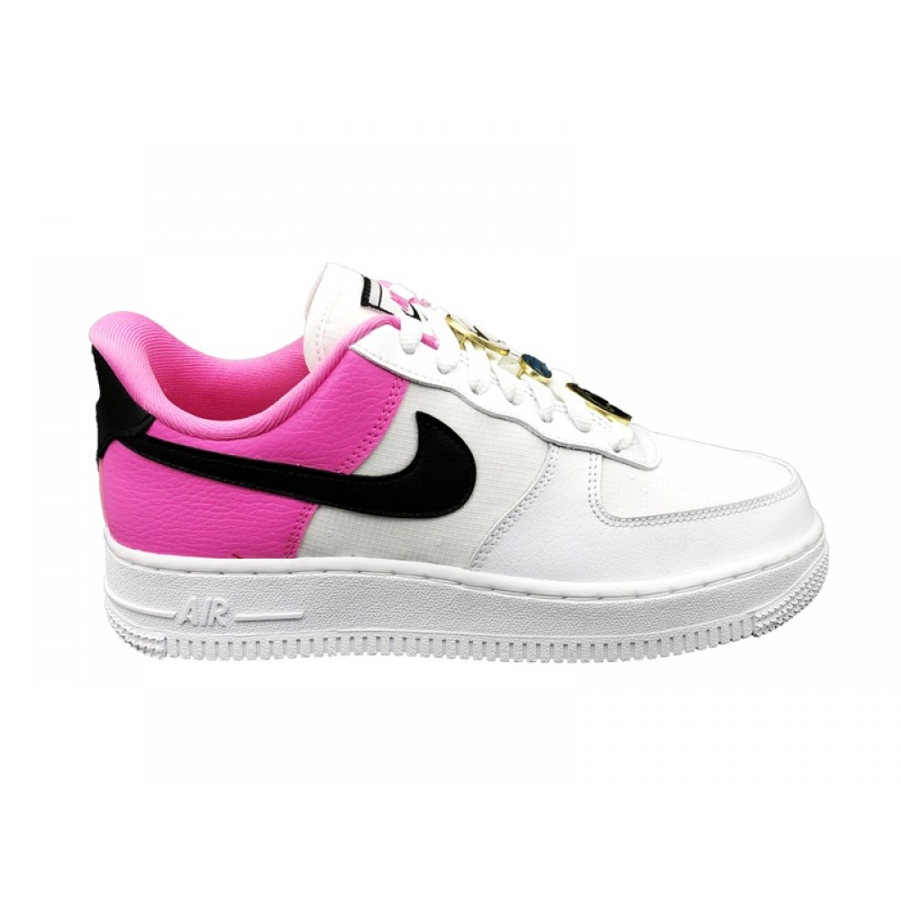 nike air force 1 fucsia e bianche