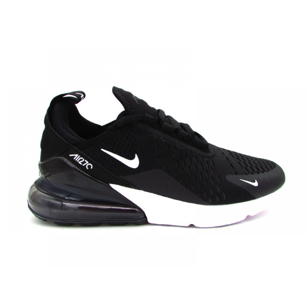 NIKE SNEAKERS AIR MAX 270 NERO BIANCO AH8050 002 SNEAKERS