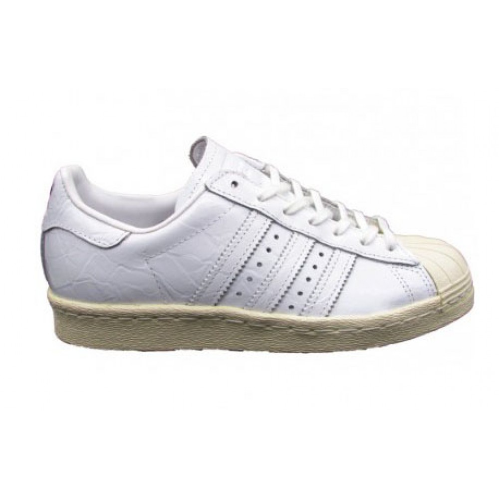 ADIDAS SNEAKERS SUPERSTAR 80S W BIANCO LUCIDO BB2056