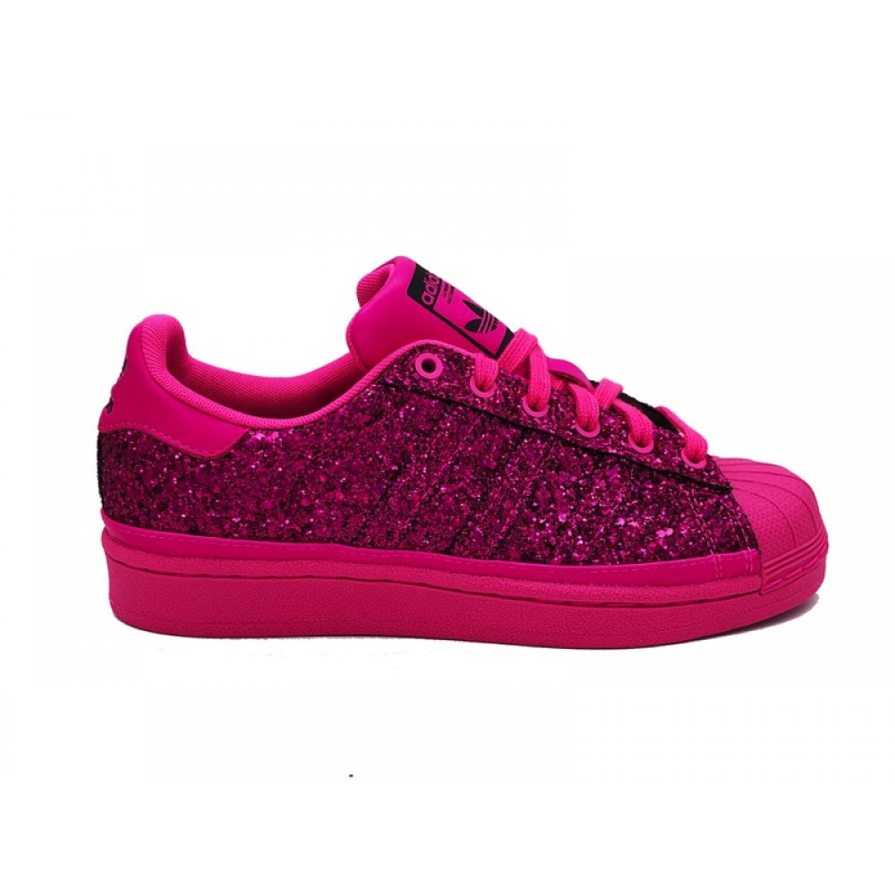 ADIDAS SUPERSTAR W SNEAKERS FUCSIA BD8054