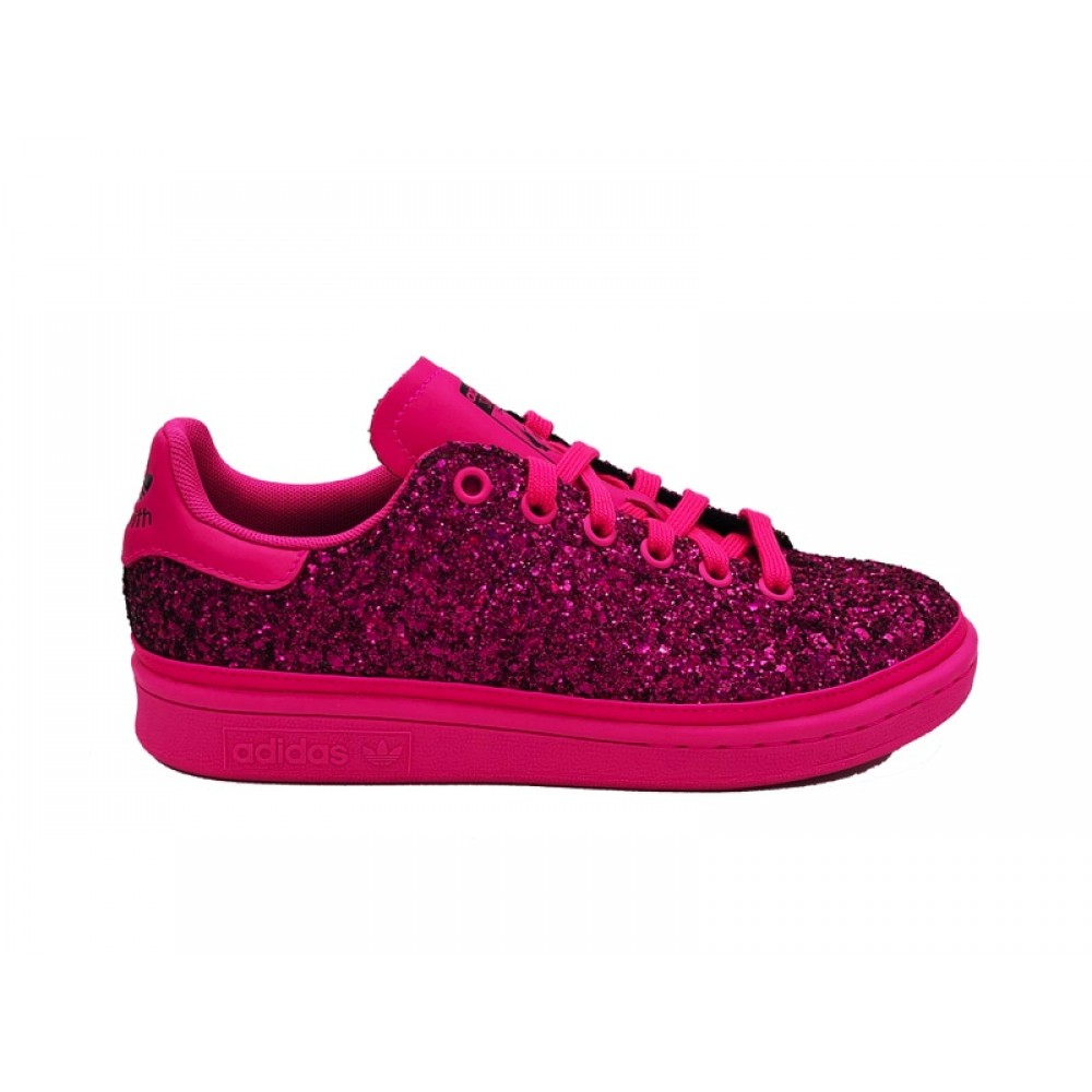 uk availability 5f966 cd623 ADIDAS STAN SMITH W SNMEAKERS FUCSIA BD8058