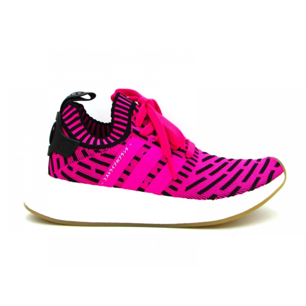 ADIDAS NMDR2 PK SNEAKERS FUCSIA NERO BIANCO BY9697