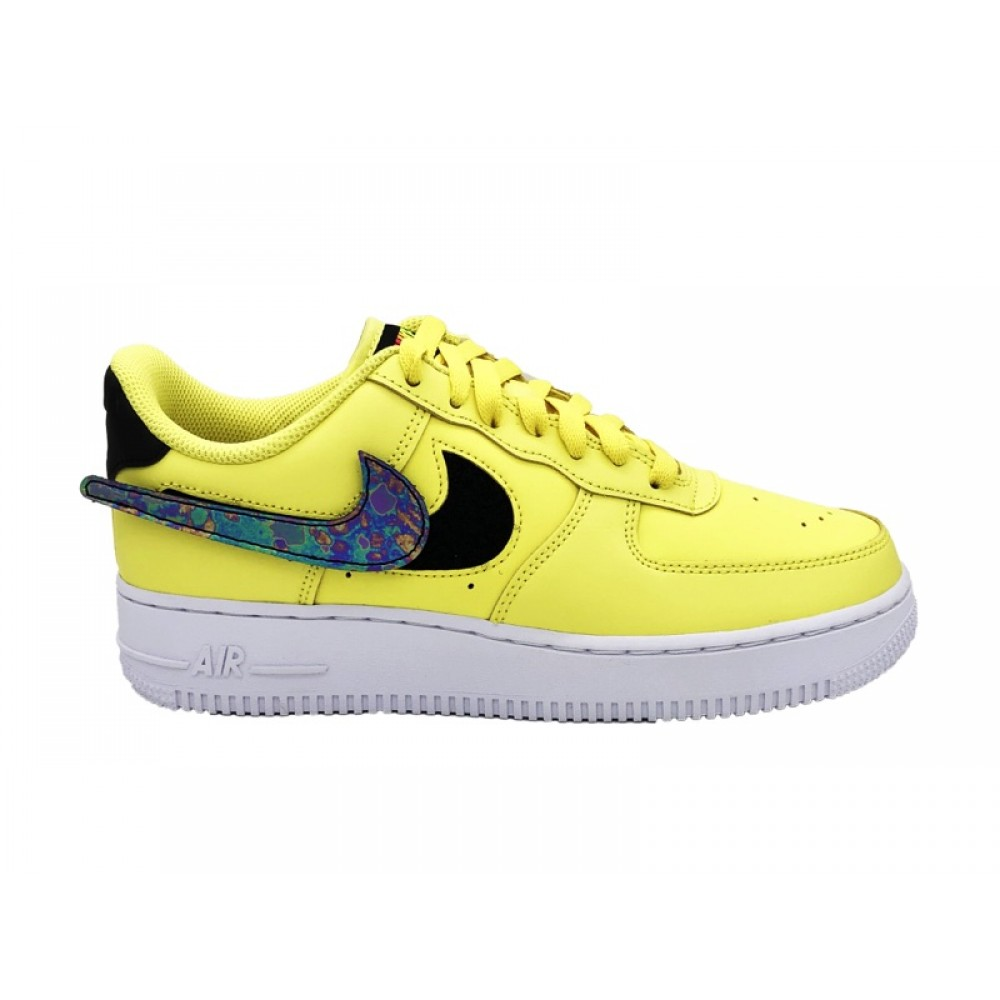 air force 1 viola e gialla