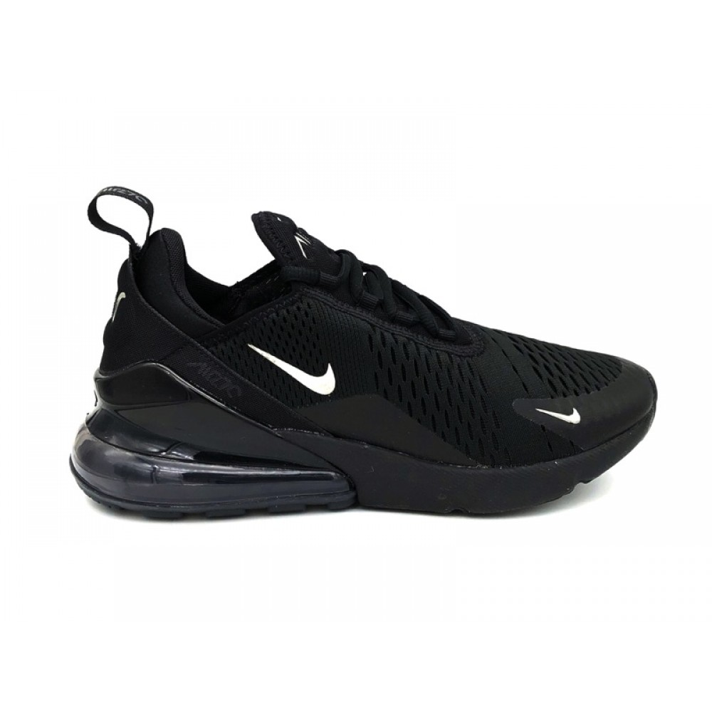 NIKE AIR MAX 270 SNEAKERS NERO ARGENTO CI2671 001 SNEAKERS