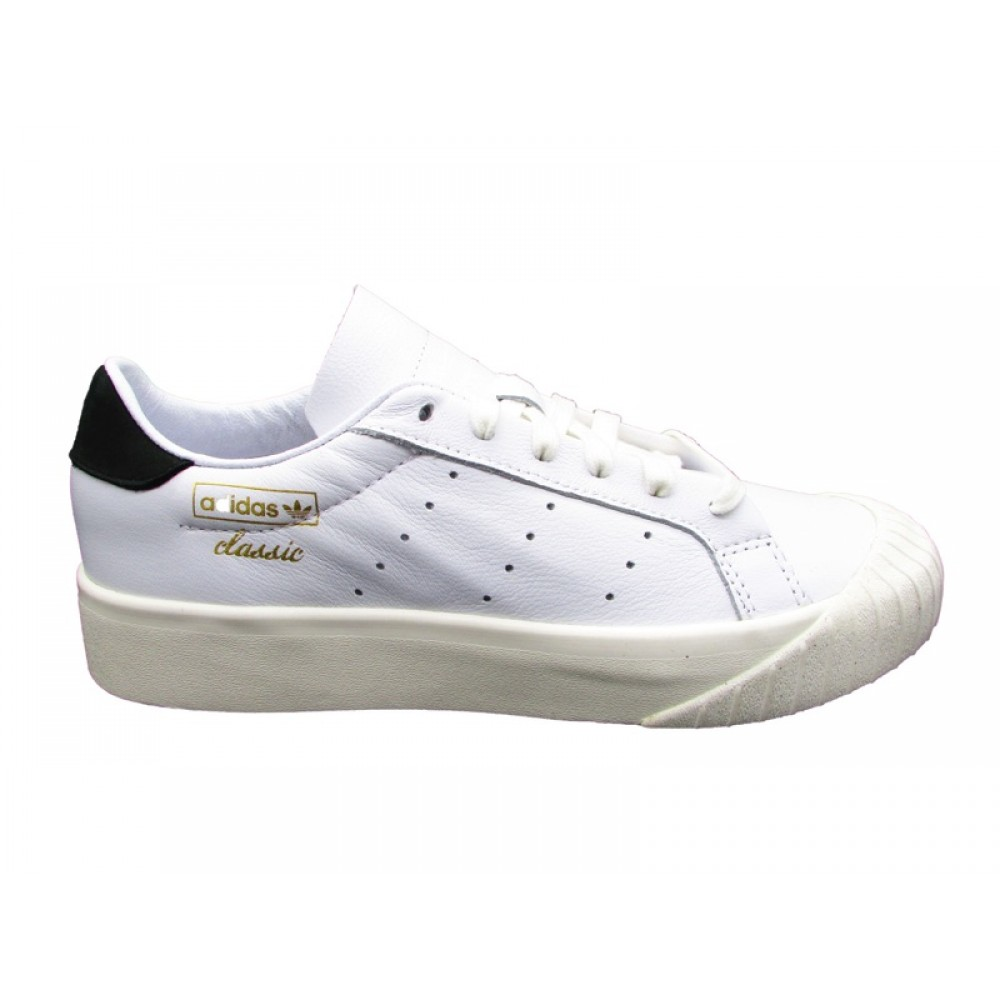 best service ac319 44f81 ADIDAS EVERYN W SNEAKERS BIANCO NERO CQ2042 - mainstreetblytheville.org