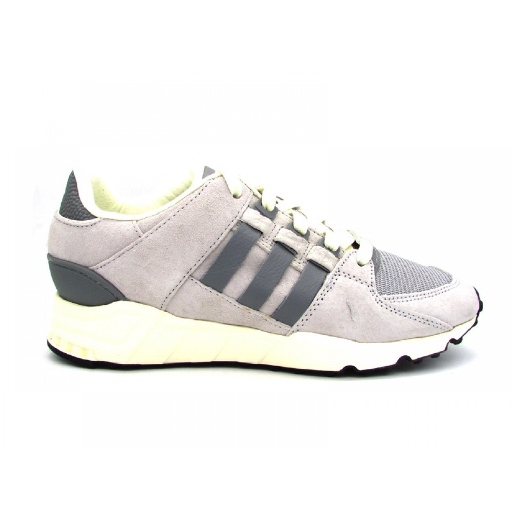 new product bf2b6 a5f62 adidas eqt support rf con strisce argento