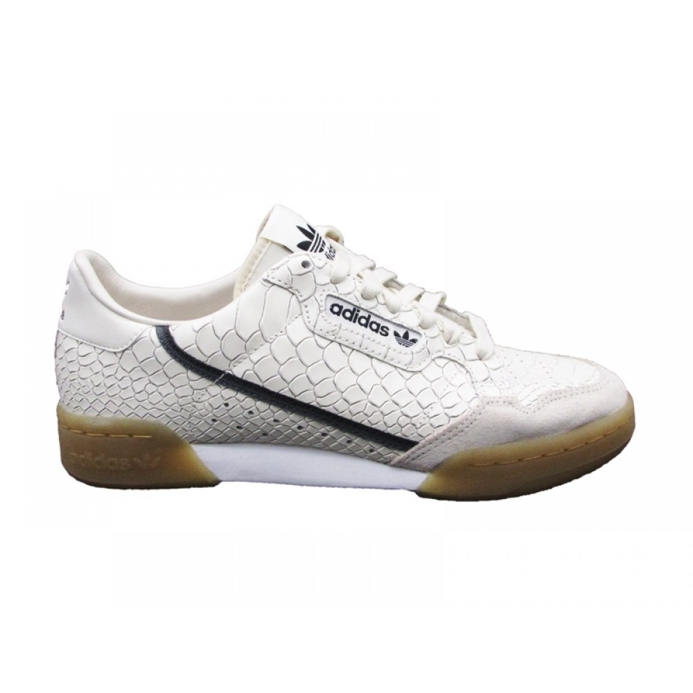 hot sale online a6922 94ac7 ADIDAS CONTINENTAL 80 SNEAKERS BIANCO BEIGE D96659