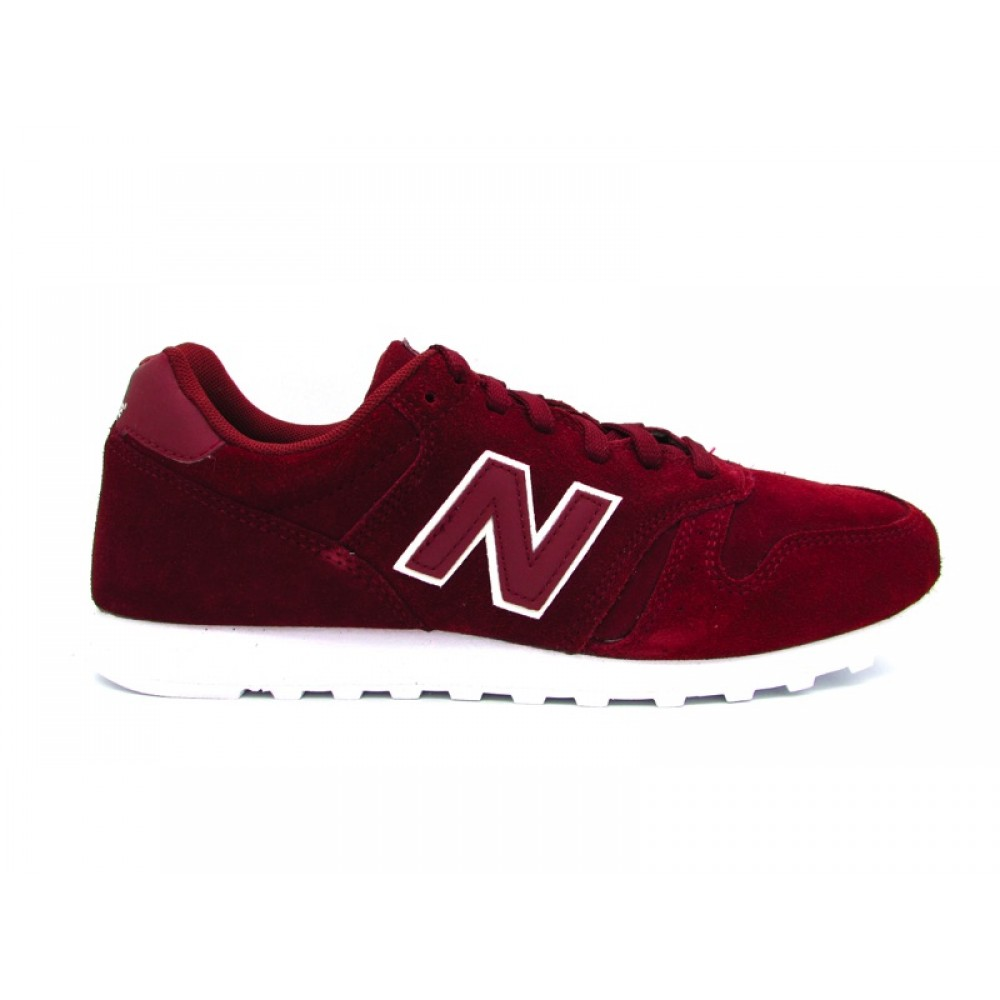NEW BALANCE ML373TP SNEAKERS BORDEAUX BIANCO