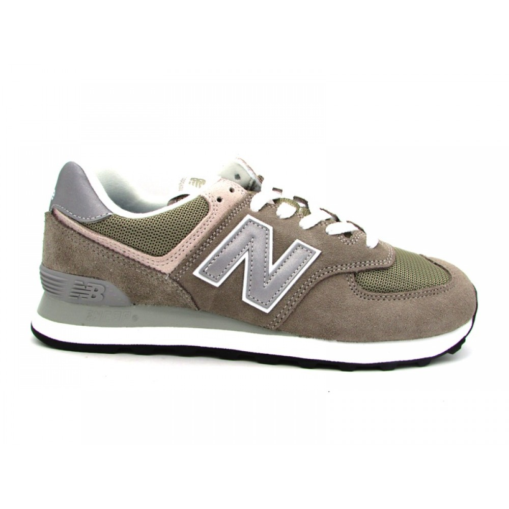 NEW BALANCE SNEAKERS 574 GRIGIO ML574EGG