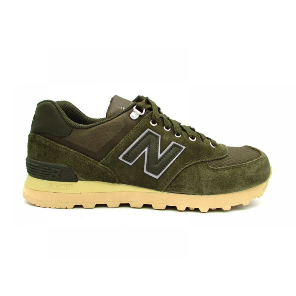 NEW BALANCE 574 SNEAKERS VERDE BEIGE ML574PKT