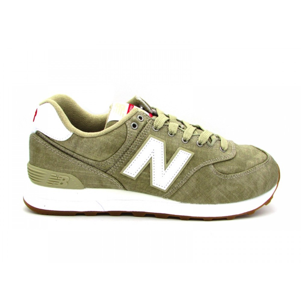 NEW BALANCE 574 SNEAKERS BEIGE BIANCO ML574YLG