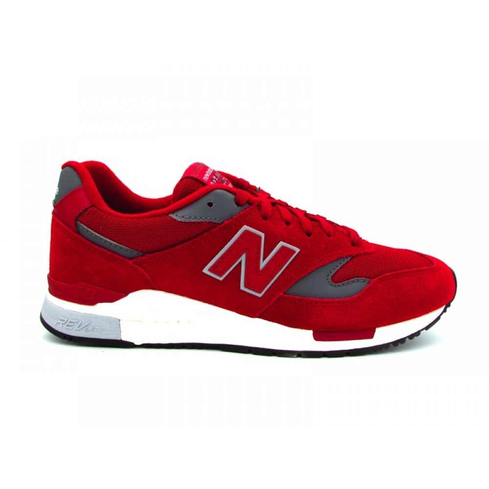 NEW BALANCE 840 SNEAKERS BORDEAUX BIANCO GRIGIO ML840AJ