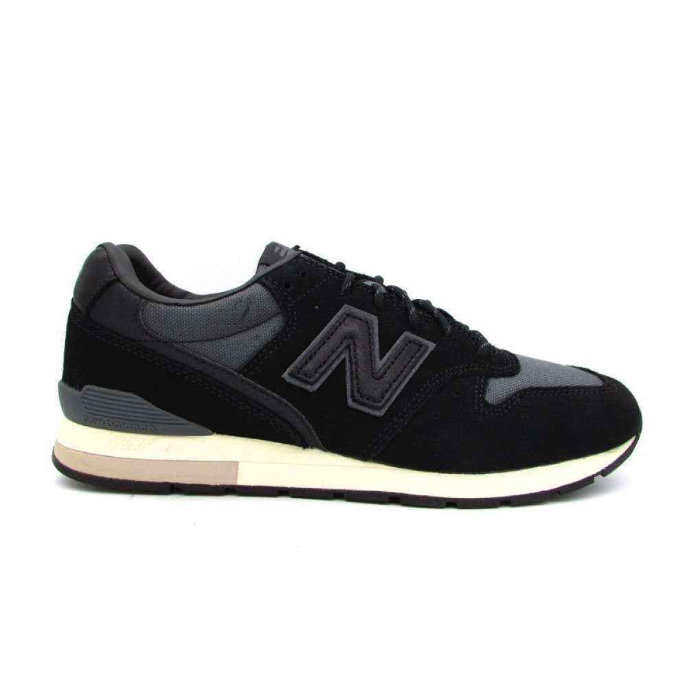 NEW BALANCE 996 SNEAKERS NERO GRIGIO BEIGE MRL996MS