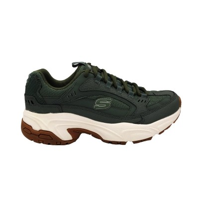 SKECHERS UNO STAND ON AIR SNEAKERS NERO 73690 BBK Donna