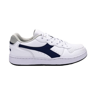 DIADORA PLAYGROUND GS SNEAKERS BIANCO BLU 173301-C1494