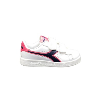 DIADORA GAME P PS SNEAKERS BIANCO NERO ROSA 173324-C8593