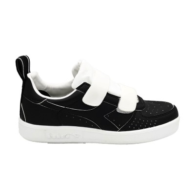 DIADORA SNEAKERS B ELITE TAPE NERO BIANCO 174389-C0641