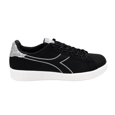 DIADORA GAME P WN SNEAKERS NERO ARGENTO 175063-80013