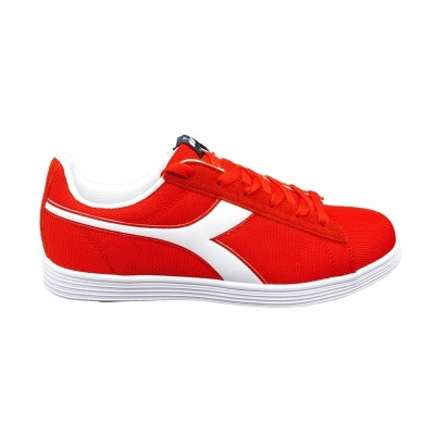 DIADORA COURT FLY SNEAKERS ROSSO BIANCO 175743-45032