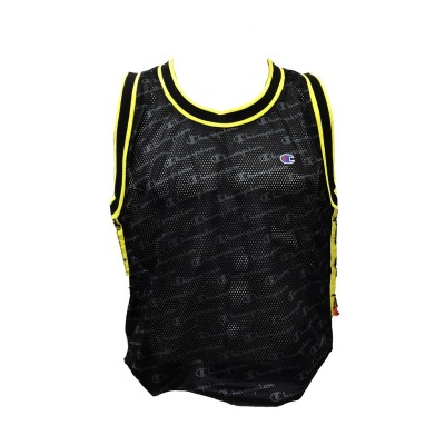 CHAMPION CANOTTA BASKET NERO 212835-S19-KL001