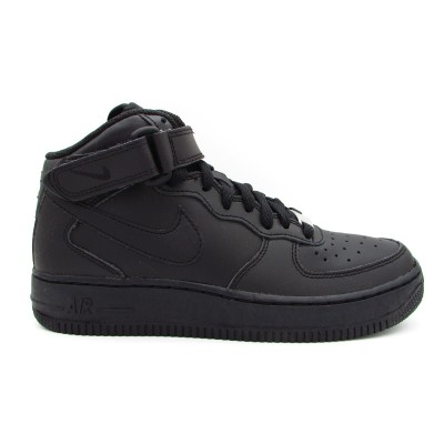 NIKE AIR FORCE 1 MID (GS) SNEAKERS NERO 314195-004