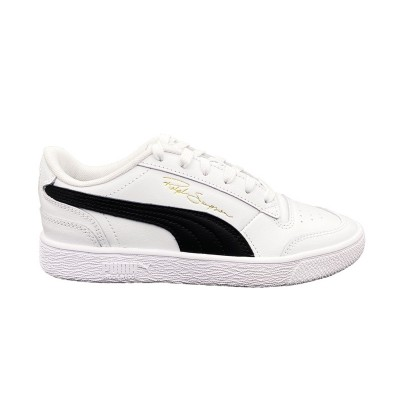 PUMA RALPH SAMPSON LO JR SNEAKERS BIANCO NERO 370919-08