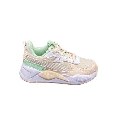 PUMA RS-X COLLEGIATE PS SNEAKERS ROSA VERDE BIANCO 371627-03