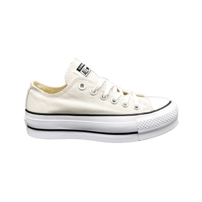 CONVERSE SNEAKERS CTAS CLEAN LIFT OX BEIGE 565502C