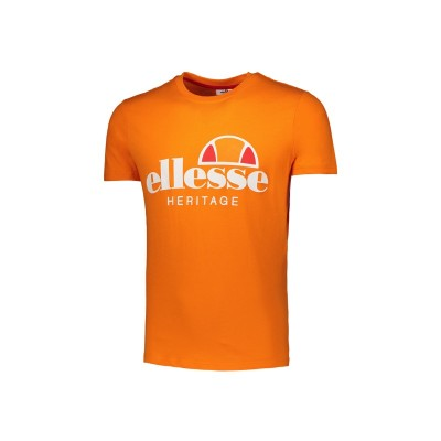 ELLESSE T-SHIRT LOGO  S/S ORANGE 792000-702