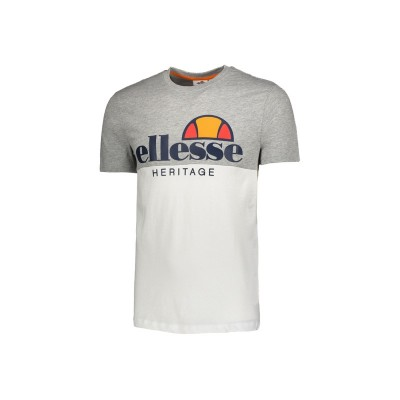 ELLESSE T-SHIRT COLOR BLOCK  S/S WHITE  792001-100