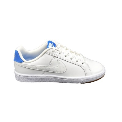 NIKE SNEAKERS COURT ROYALE (GS) BIANCO CELESTE 833535-106