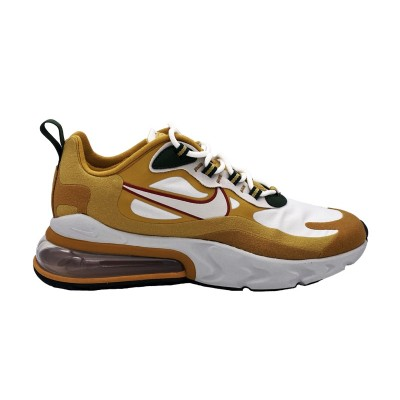NIKE AIR MAX 270 REACT SNEAKERS BEIGE BIANCO NERO AO4971-700