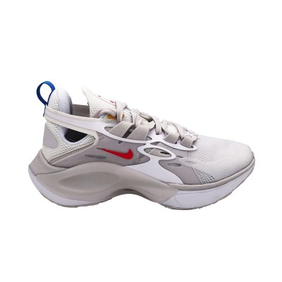 NIKE SIGNAL D/MS/X SNEAKERS  BIANCO CELESTE ROSSO AT5303-100