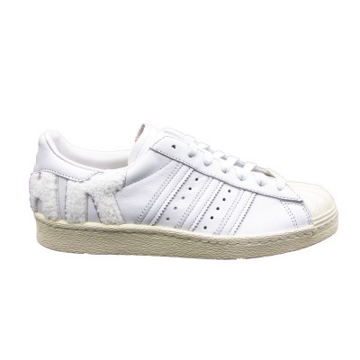 ADIDAS SUPERSTAR 80s SNEAKERS BIANCO B37995