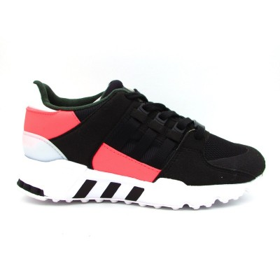 ADIDAS SNEAKERS EQT SUPPORT J NERO BIANCO ROSA BB2954