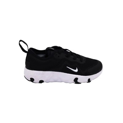 NIKE RENEW LUCENT PS SNEAKERS NERO-BIANCO CD6904-001