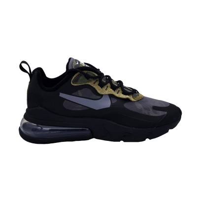NIKE AIR MAX 270 REACT SNEAKERS NERO BIANCO ANTRACITE CT5528-001