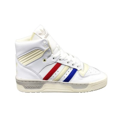 ADIDAS RIVALRY SNEAKERS BIANCO ROSSO BLU EE6371