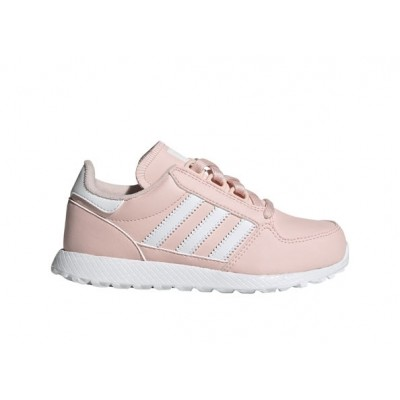 ADIDAS FOREST GROVE C SNEAKERS ROSA BIANCO EG8967