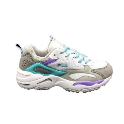 FILA SNEAKERS RAY TRACER WMN WHITE-VIOLET TULIP-BLUE CURACAO 1010686.02D