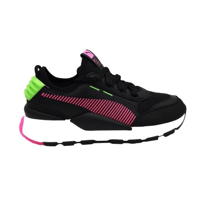 PUMA RS-0 REIN SNEAKERS NERO ROSA VERDE FLUO BIANCO 371828-03