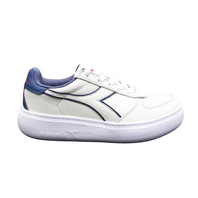 DIADORA PLAYGROUND PS SNEAKERS BIANCO ROSA VIOLA 173300
